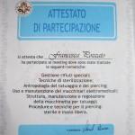 Certificato APTPI 2006