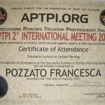 Certificato APTPI 2010 #1