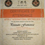 Certificato APTPI 2010 #2