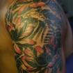 Tatuaggio giapponese loto
